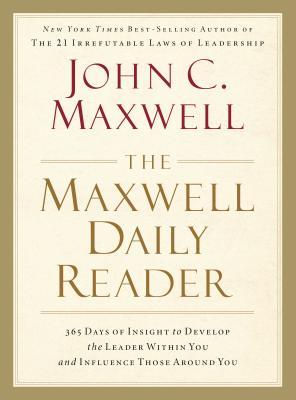 Maxwell Daily Reader By Maxwell, John C.